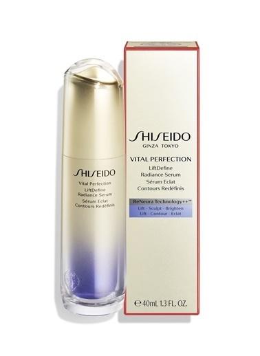 Shiseido Shiseido Vital Perfection LiftDefine Radiance Tüm Ciltler İÇin 30 Yaş Üstü Serum 40 ml Renksiz